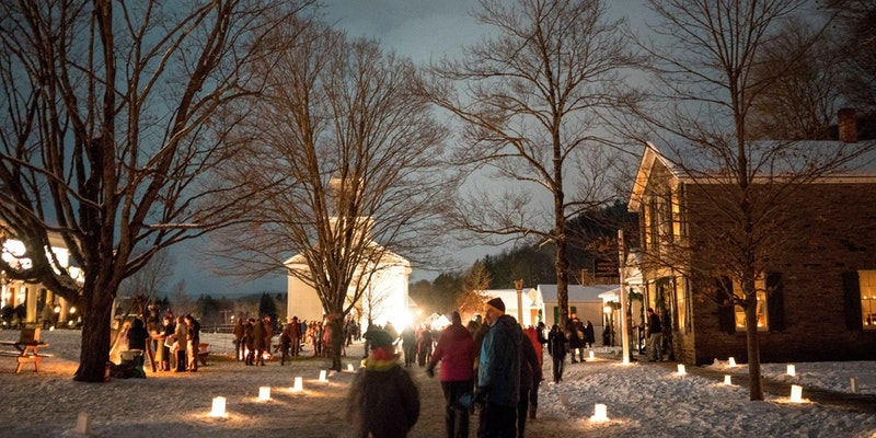 Candlelight Evening at the Farmer's Museum in Cooperstown/December 9th, 2017