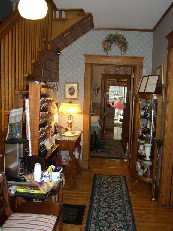 Foyer at Rose and Thistle B&B